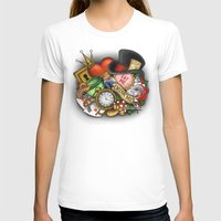 alice in wonderland T-shirts featuring Wonderland  by Katie Simpson a.k.a. Redhead-K