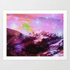Crystal Mountain Art Print