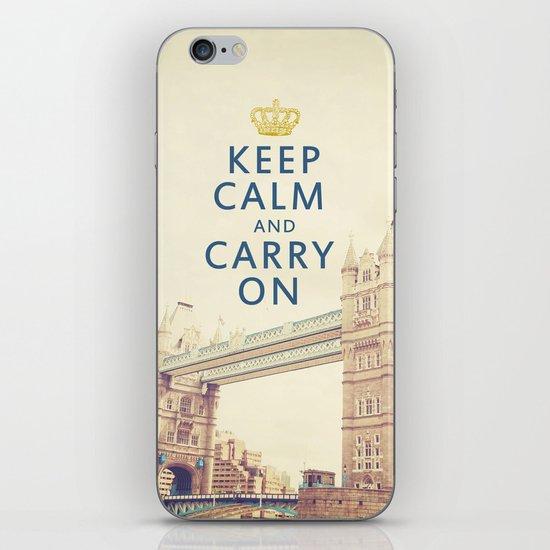 Keep Calm London iPhone & iPod Skin