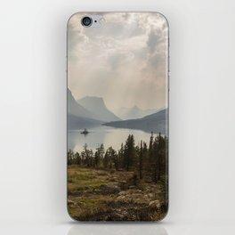 Panoramic Landscape Mountains & Lake iPhone Skin