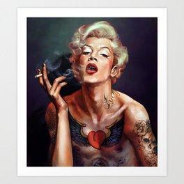 Merylin. The new icon ;-) Art Print