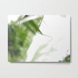 Peaceful green shades of graceful nature Metal Print