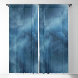 Sky clouds background Blackout Curtain