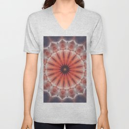 SunBurst Mandala Unisex V-Neck