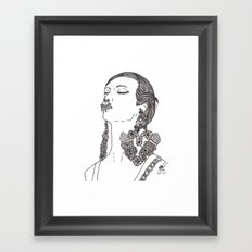 Givenchy Framed Art Print