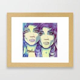 gimini Framed Art Print