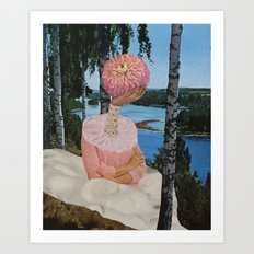 lake sludge Art Print
