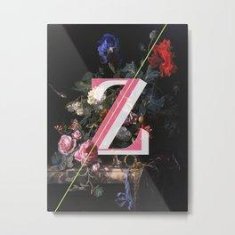 Letter Z Metal Print