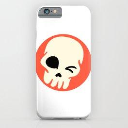 Funny Skull iPhone Case