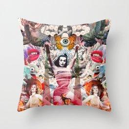 Vampira Throw Pillow