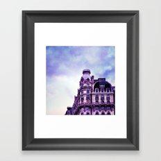 Ansonia - Storm Framed Art Print
