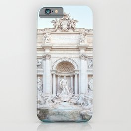 Trevi Fountain - Rome Italy Architecture, Travel Photography iPhone Case