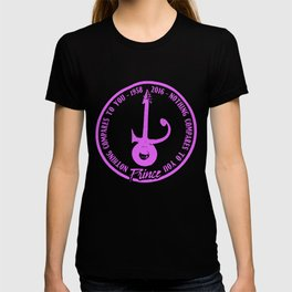 Prince Nothing Compares To You Guitar Rip Tribute Rock Sign  Rain Guitar T-Shirts T-shirt