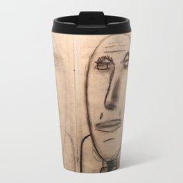mirror of charcoal Travel Mug