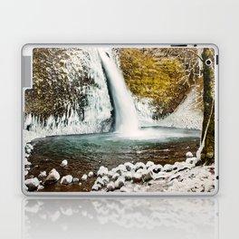Frozen Horsetail Falls Laptop & iPad Skin