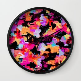 Threshold Camo Wall Clock