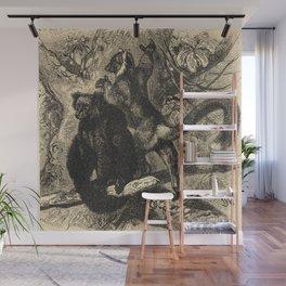 Lemurs Wall Mural