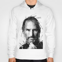 steve jobs Hoodies featuring STEVE JOBS by Radit_G