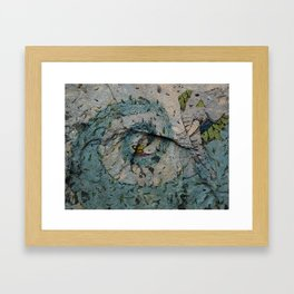 The Genie of the Lamp Framed Art Print