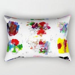 12 daily rituals Rectangular Pillow