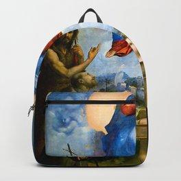 Raphael - Madonna of Foligno Backpack