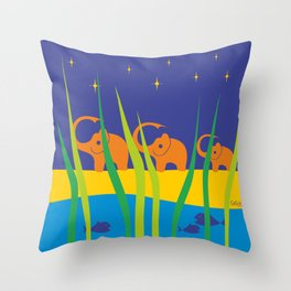Wilderness Weekend Throw Pillow