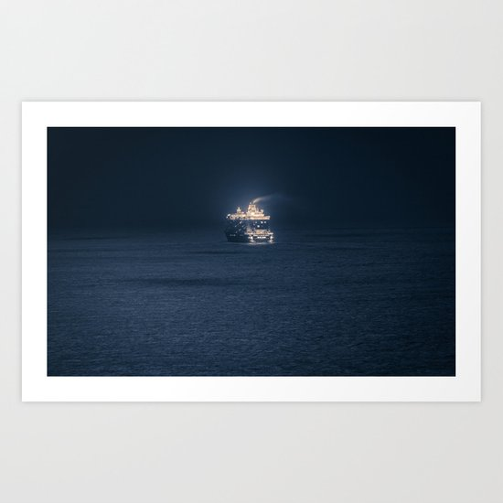 Dubrovnik Cruiser Art Print