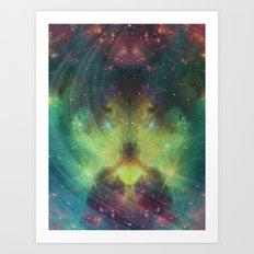 cosmic meditation  Art Print