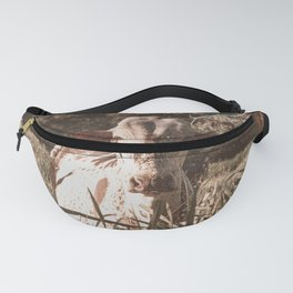 Cow Fanny Pack