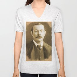 Sir Arthur Conan Doyle Unisex V-Neck