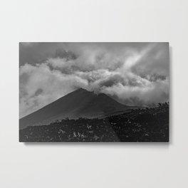 volcanic island Metal Print