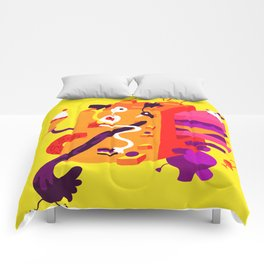 The Moving Block Comforters