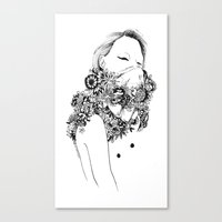 gangster Canvas Prints featuring Gangster by Avalon lewis