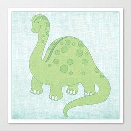 Deeno the Dino Canvas Print