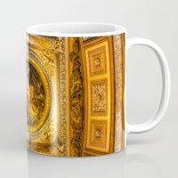 college Mugs featuring Royal Naval College Greenwich  by David Pyatt