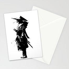 samurai jap Stationery Cards