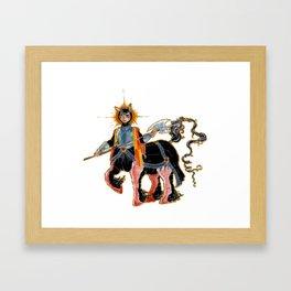 Middle age Centaur Framed Art Print