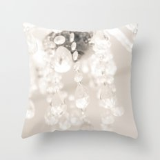 Crystals II Throw Pillow