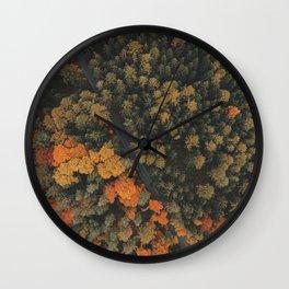 Autumn Passage Wall Clock