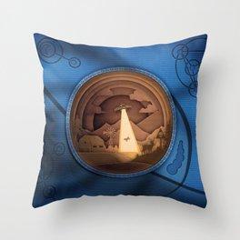 UFO Thief Throw Pillow