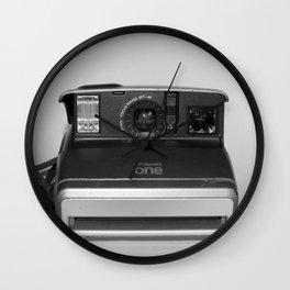 Polariod One Camera Wall Clock