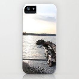Logs Kits Beach Sunset iPhone Case