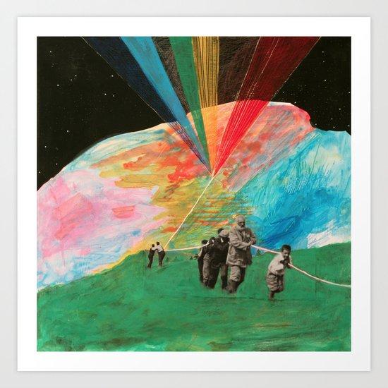 Universe Kite Art Print