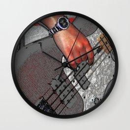 Bass 4 Wall Clock