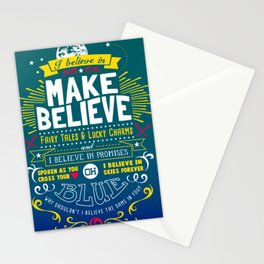 Gamer Geek Chic Earthbound Mother Inspired I Believe in You! Stationery Cards