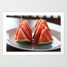 Watermelon II Art Print
