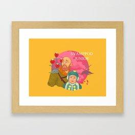 Svamppod Junior Framed Art Print