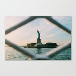 Sights Set on Liberty Canvas Print