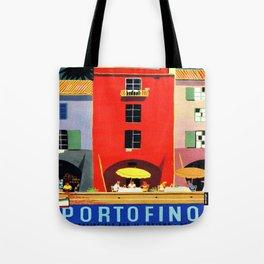 Vintage poster - Portofino Tote Bag