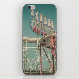 Luna Park iPhone Skin